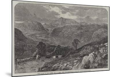 The Valley of the Lledr--Mounted Giclee Print