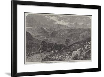 The Valley of the Lledr--Framed Giclee Print