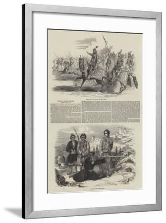 The War in the Punjaub--Framed Giclee Print