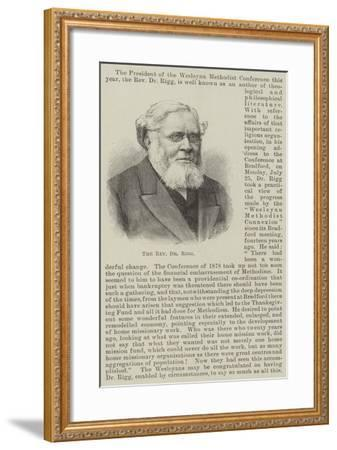 The Reverend Dr Rigg--Framed Giclee Print