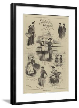 Whiffs from Weymouth--Framed Giclee Print