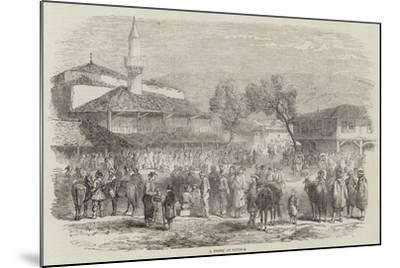 A Street at Schumla--Mounted Giclee Print