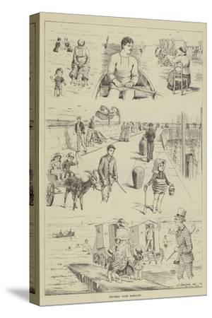 Sketches from Ramsgate--Stretched Canvas Print