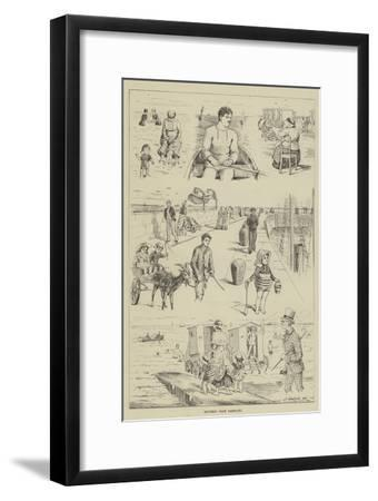 Sketches from Ramsgate--Framed Giclee Print