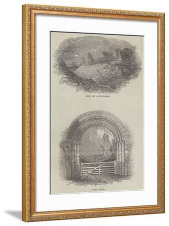 Sketches of Castleacre--Framed Giclee Print
