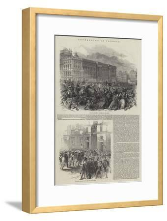 Revolution in Prussia--Framed Giclee Print
