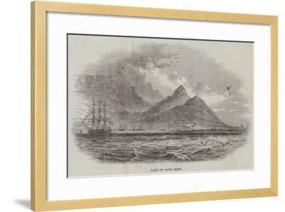 Cape of Good Hope--Framed Giclee Print