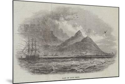 Cape of Good Hope--Mounted Giclee Print