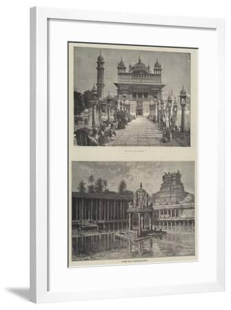 Scenes in India--Framed Giclee Print