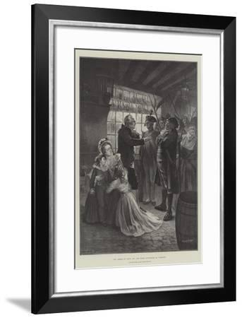 The Arrest of Louis XVI and Marie Antoinette at Varennes--Framed Giclee Print