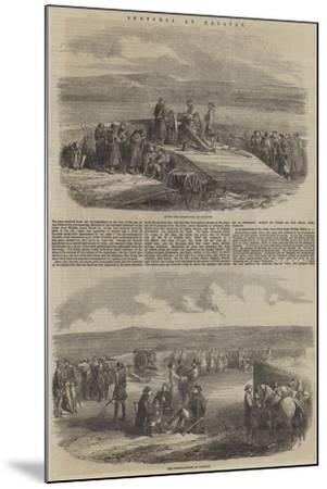 Sketches at Kalafat--Mounted Giclee Print