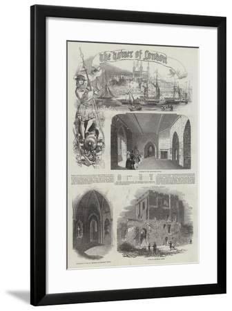 Tower of London--Framed Giclee Print