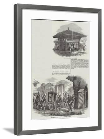 Sketches of Scutari--Framed Giclee Print