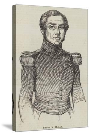 Captain Bruat--Stretched Canvas Print