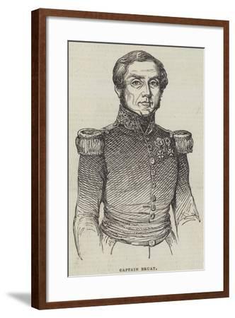 Captain Bruat--Framed Giclee Print