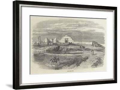 The Mhow Fort--Framed Giclee Print