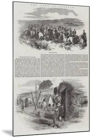 The Camp at Chobham--Mounted Giclee Print