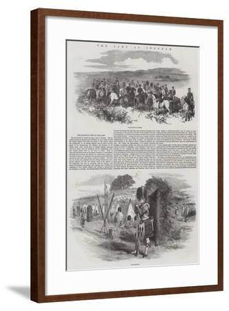 The Camp at Chobham--Framed Giclee Print