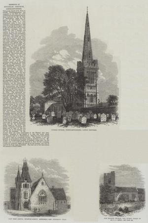 British Churches--Premium Giclee Print
