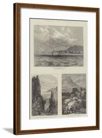 Views in Cyprus--Framed Giclee Print