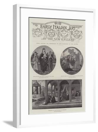 Early Italian Art--Framed Giclee Print