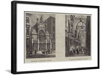 Old Bond Street--Framed Giclee Print