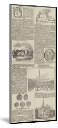 The Royal Exchange--Mounted Giclee Print