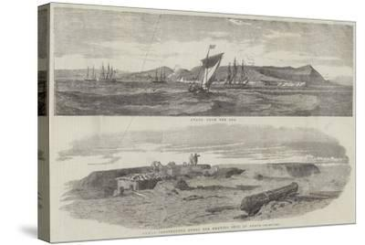 Sketches of Anapa--Stretched Canvas Print