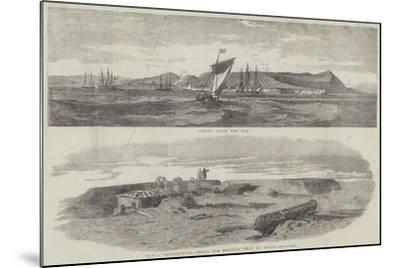 Sketches of Anapa--Mounted Giclee Print