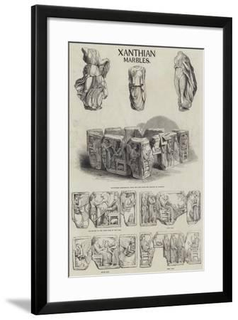 Xanthian Marbles--Framed Giclee Print