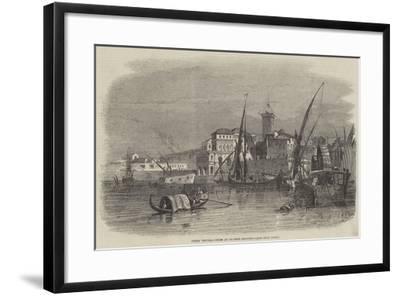 Civita Vecchia--Framed Giclee Print