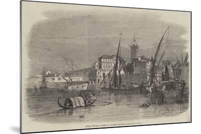 Civita Vecchia--Mounted Giclee Print