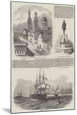 Kronstadt--Mounted Giclee Print