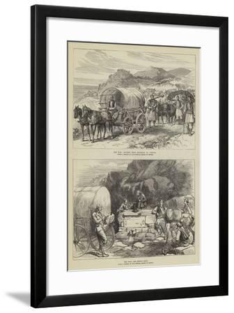 The War in Turkey--Framed Giclee Print