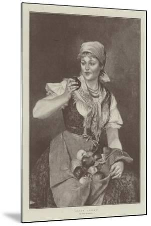 Sweet Apples--Mounted Giclee Print