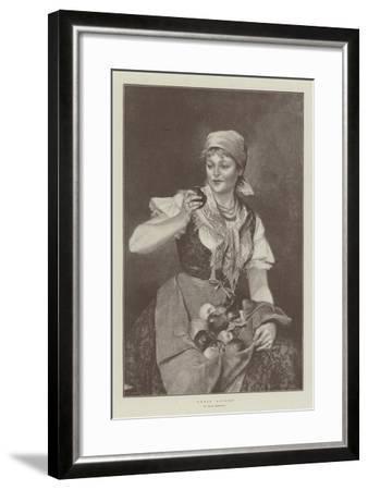 Sweet Apples--Framed Giclee Print