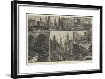Views in Bradford--Framed Giclee Print