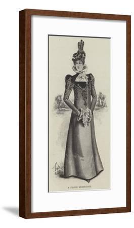 A Cloth Redingote--Framed Giclee Print