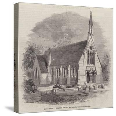 Holy Trinity Chapel School at Reach, Cambridgeshire--Stretched Canvas Print