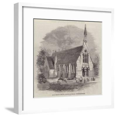 Holy Trinity Chapel School at Reach, Cambridgeshire--Framed Giclee Print