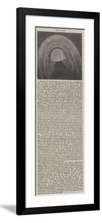The Comet--Framed Giclee Print