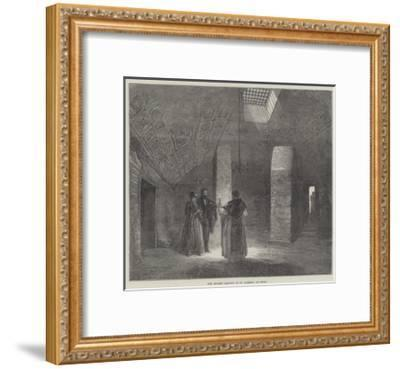 The Ancient Oratory of St Clement, at Rome--Framed Giclee Print