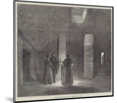 The Ancient Oratory of St Clement, at Rome--Mounted Giclee Print