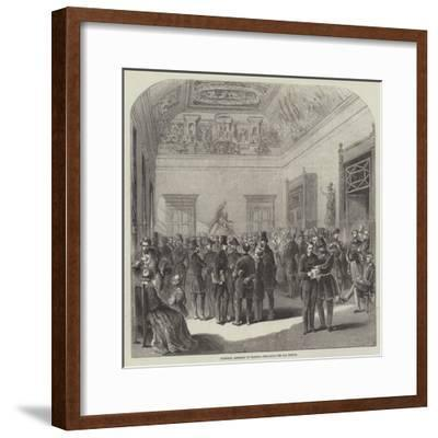National Assembly of France, the Salle Des Perdus--Framed Giclee Print
