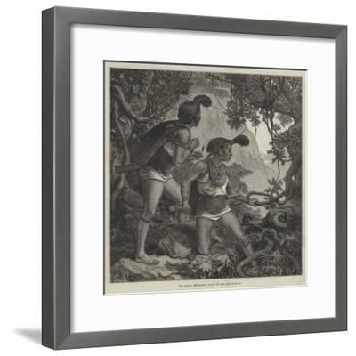 The Duffla Expedition, Scouts of the Abor Dufflas--Framed Giclee Print