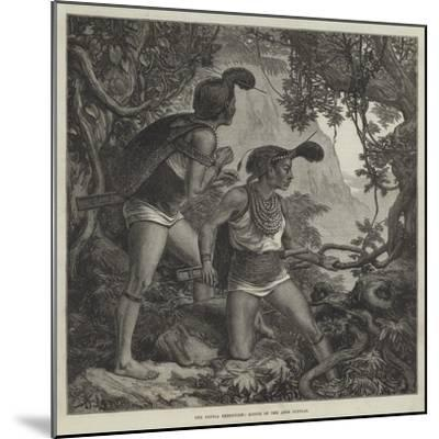 The Duffla Expedition, Scouts of the Abor Dufflas--Mounted Giclee Print