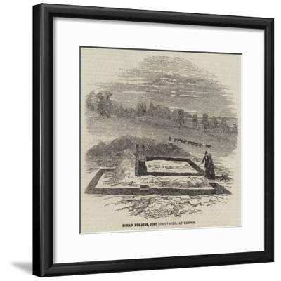 Roman Remains, Just Discovered, at Keston--Framed Giclee Print