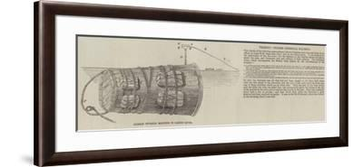 Chinese Infernal Machine, in Canton River--Framed Giclee Print