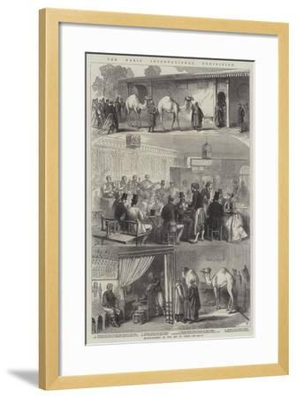 The Paris International Exhibition--Framed Giclee Print