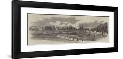Improvements in Calcutta, the Dunkin Bustee, in Chowringhee--Framed Giclee Print
